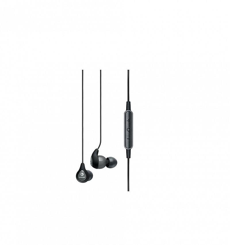 Shure SE112M Earphone w/remote plus microphone