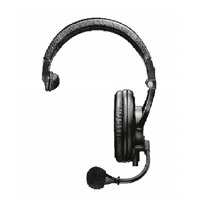 Shure BRH441M Single Ear Headphone with Microphone